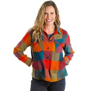 Woolrich Oxbow Bend Plaid Flannel Shirt Jac